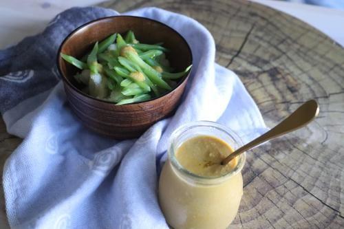 salsa saludable de miso cardamomo anacardos suave sabrosa